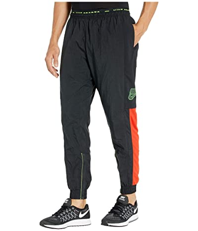 Nike Flex Pants (Black/Sequoia/Electric Green) Men