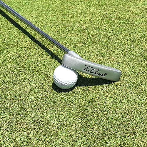 "GoSports The Classic Golf Putter - Premium Grip and Putt Putt Style Two-Way Head for Right or Left Handed Golfers - 35"" Length"