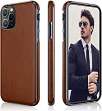 LOHASIC iPhone 11 Pro Case, Business Slim Fit PU Leather Elegant High-end Luxury Cover Shockproof Bumper Anti-Slip Soft Grip Full Body Protective Phone Cases for Apple iPhone 11 Pro(2019) 5.8