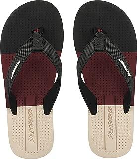 SOLETHREADS Moz | Handcrafted | Laser Footbed | Cool Travel Ready | Soft | Flip Flops for Men