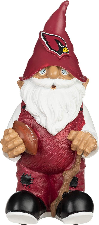 FOCO NFL Unisex Adult Resin Logo Gnome Topics on TV 11.5