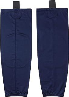 EALER HS80 Series Solid Color Dry Fit Practice Ice Hockey Socks for Men & Boy-Senior & Junior-Adult & Youth
