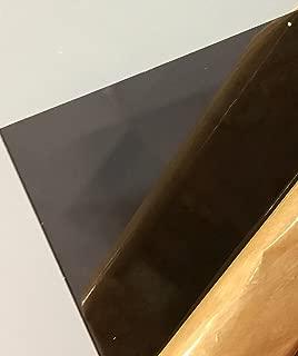 SIBE-R Plastic Supply - Dark Gray/Smoke Transparent Acrylic Plexiglass #2074-1/8