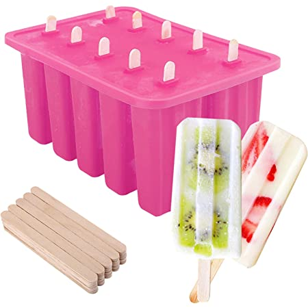 Homemade Kitchen Tools Frozen Ice Cube Lolly Mould DIY Popsicles Mold Ice Maker