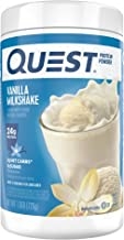 Quest Nutrition Vanilla Milkshake Protein Powder, High Protein, Low Carb, Gluten Free, Soy Free, 25.6 Ounce