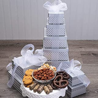 Sweet Silver Sensations Gift Tower