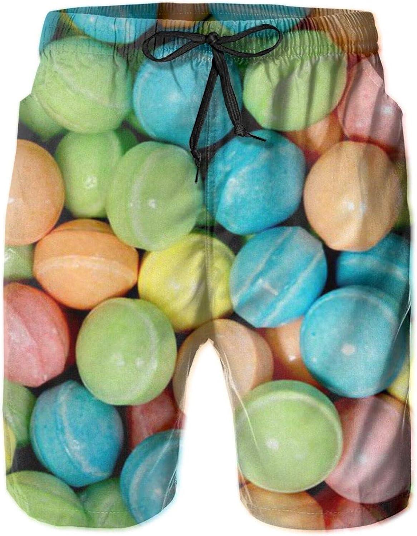Men's 100% Polyester Tucson Mall supreme Colorful Sugar Bat Comfortable Swim Trunks