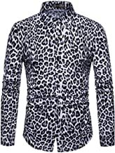 Joe Wenko Men's Jza452 Casual Dress Shirt Long Sleeve Button Down Tops