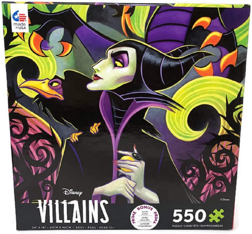 Disney Cheap mail order sales Villains Maleficent 550 Puzzle Piece Courier shipping free Jigsaw