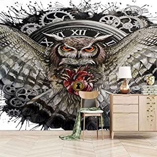 VITICP Adults Kids Wall Stickers Decals Peel and Stick Removable Wallpaper Animal owl for Nursery Bedroom Living Room TV B...