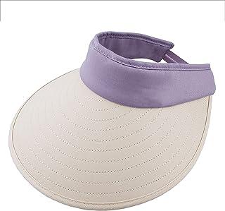 屋外の日帽子 - 女性の夏の太陽の帽子、つばの広い帽子、ビーチ帽子、アジャスタブルアンチUV婦人帽子、二人の美しいとピュアスタイル (Color : 2)
