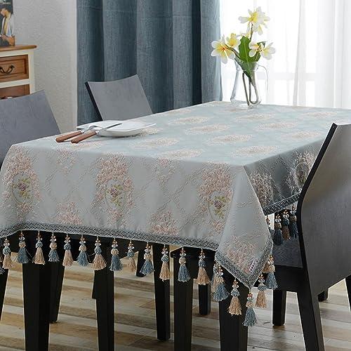 Küchenwäsche Rechteck Tischdecke europäischen Tuch Tee Tischdecken Wohnzimmer Esstisch ( Farbe   D , Größe   90140cm )
