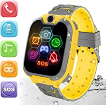 HuaWise Kids Smartwatch[SD Card Included], Waterproof Smartwatch for Kids with Quick..