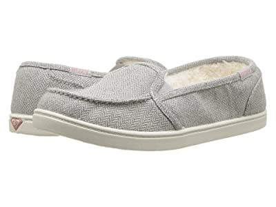 Roxy Minnow Wool Slip-On (Grey Herringbone) Women