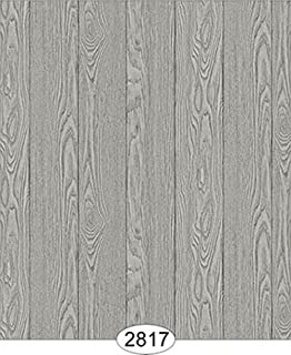 Dollhouse 1:12 Scale Flooring Paper - Vertical Finished Wood - Grey