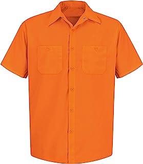 Red Kap Men's Enhanced Visibility Work Shirt