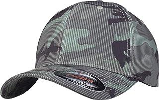 Flexfit Stripe cap Green Camo