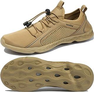 Josaywin Men's Water Shoes Quick Dry Barefoot for Diving Swim Surf Aqua Sports Pool Beach Walking