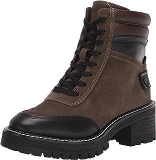 حذاء برقبة حتى الكاحل تانجيير للنساء من Franco Sarto أخضر داكن، 6. 5