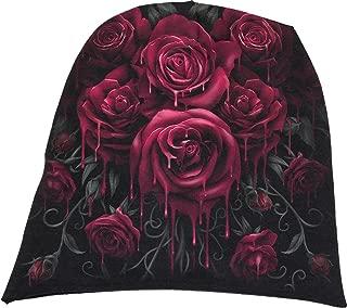 Spiral Mens - Blood Rose - Light Cotton Beanies Black