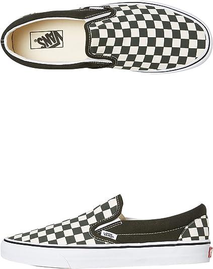 Vans Chaussures à enfiler Core Classics pour homme, ((damier ...