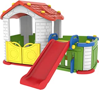 BIG CHILDREN HOUSE WITH SLIDE, MADE IN KOREA