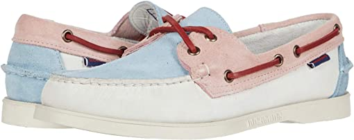 White/Baby Pink/Baby Blue