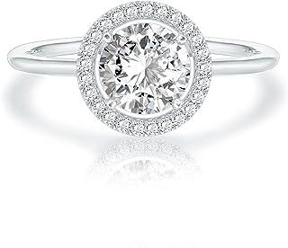 Swarovski Crystal 14K White Gold Plated Birthstone Rings | Rings for Women