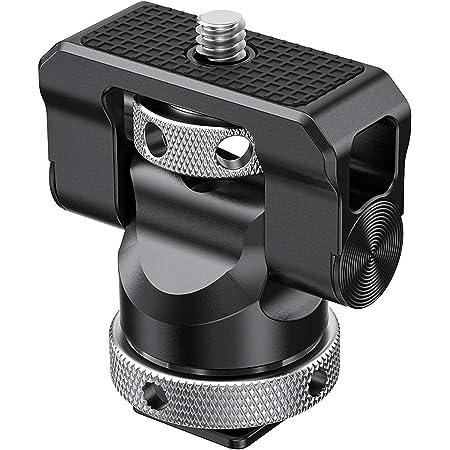 SMALLRIG Supporto per Monitor Girevole e Inclinabile con Adattatore per Cold Shoe - 2346