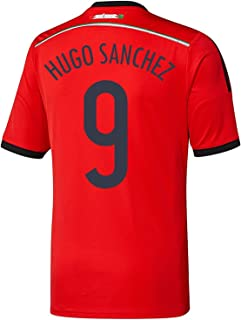 Adidas HUGO SANCHEZ #9 Mexico Away Jersey World Cup 2014 YOUTH.