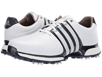 adidas Golf Tour360 XT (Footwear White/Collegiate Navy/Silver Metallic) Men