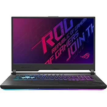 """CUK ROG Strix G17 by ASUS 17 inch Gaming Laptop (Intel Core i7, 64GB RAM, 2TB NVMe SSD, NVIDIA GeForce RTX 2070 8GB, 17.3"""" FHD 144Hz, Windows 10 Home) Gamer Notebook Computer"""