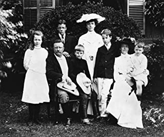 Theodore Roosevelt Family Npresident Roosevelt Photographed With His Family In 1903 Probably At Sagamore Hill Their Home A...