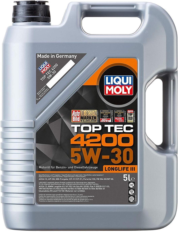 Liqui Moly 3707 Top Tec 4200 5w 30 5 L Auto