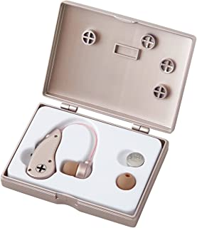 Clear Sound Personal Sound Amplifier. Affordable with best quality. Behind The Ear. Easy To Use. Fit Both Ears, Energy-Saving Technology, with 2 ear buds (Large and Small) to fit most customers. New flexible tube best fit over ear. Ear buds made from special soft rubber that's comfortable. One LR44 / 357 / 76 button cell battery included(20 hours). PR44 / 675 button cell battery available for purchase separately (100 hours).