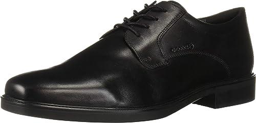 Geox U844VC00043C9999 Herren Business-Schuh aus Glattleder Technologie