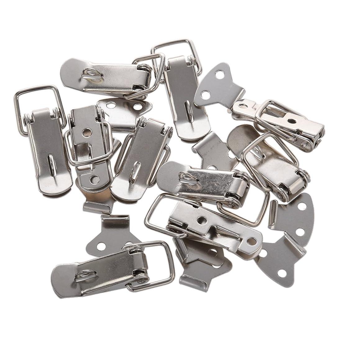 松の木思慮のないもっと少なくGaoominy 10個入りテンションロックTSAロックボックススプリングロックロックラッチ