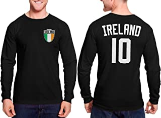 HAASE UNLIMITED Ireland Futbol Jersey - Irish Unisex Long Sleeve Shirt