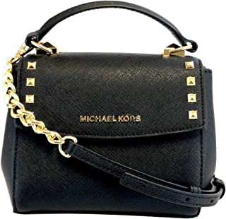ffe9ca1f62cc Michael Kors Karla Mini Convertible Saffiano Leather Crossbody Handbag