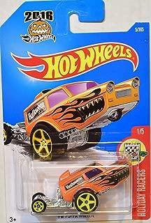 Hot Wheels 2016 Holiday Racers HW Poppa Wheelie 5/365, Orange (Halloween)