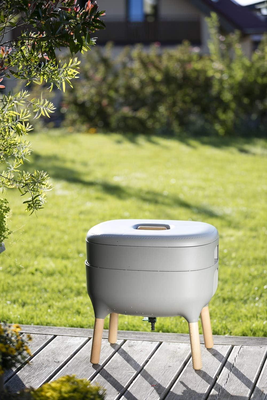 Marron Design-Komposter Composteurs Wurmkomposter Wohnraumkomposter K/üchenkomposter