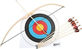 Deporte arco Juego de ratán de palmera, Diana (Madera,