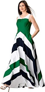 Best green and white chevron dress Reviews