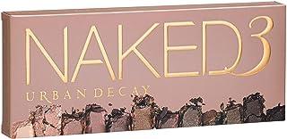 Urban Boundaries Naked 3-Paleta de maquillaje con tonos naturales y rosados