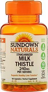 Sundown, Milk Thistle Xtra Capsules, 60 Count