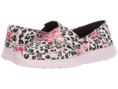 Ariat Kids Cruiser Easy Fit (Toddler/Little Kid/Big Kid) (Leopard and Roses) Girls Shoes