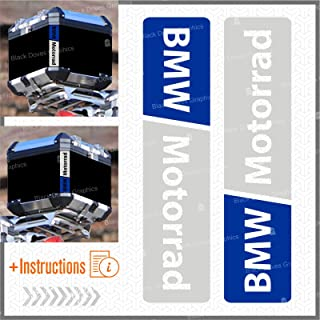 Biomar Labs/® 19pcs x PVC Adesivi Rifrangenti Reflective Segnaletici Riflettenti per Sicurezza Notturna Blu per Casco Passeggino Carovana Garage Bicicletta Scooter Motocicletta Recinto la Barca D 44
