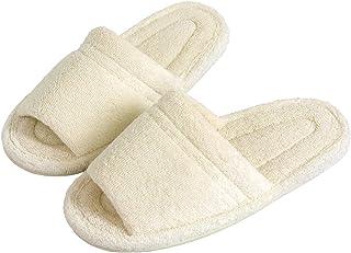 オカ 乾度良好 Dナチュレ スリッパ Mサイズ (足のサイズ約25cmまで) (ホワイト)