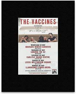 Uncut Vaccines - The Walkmen Tour 2013 Mini Poster - 13.5x10cm