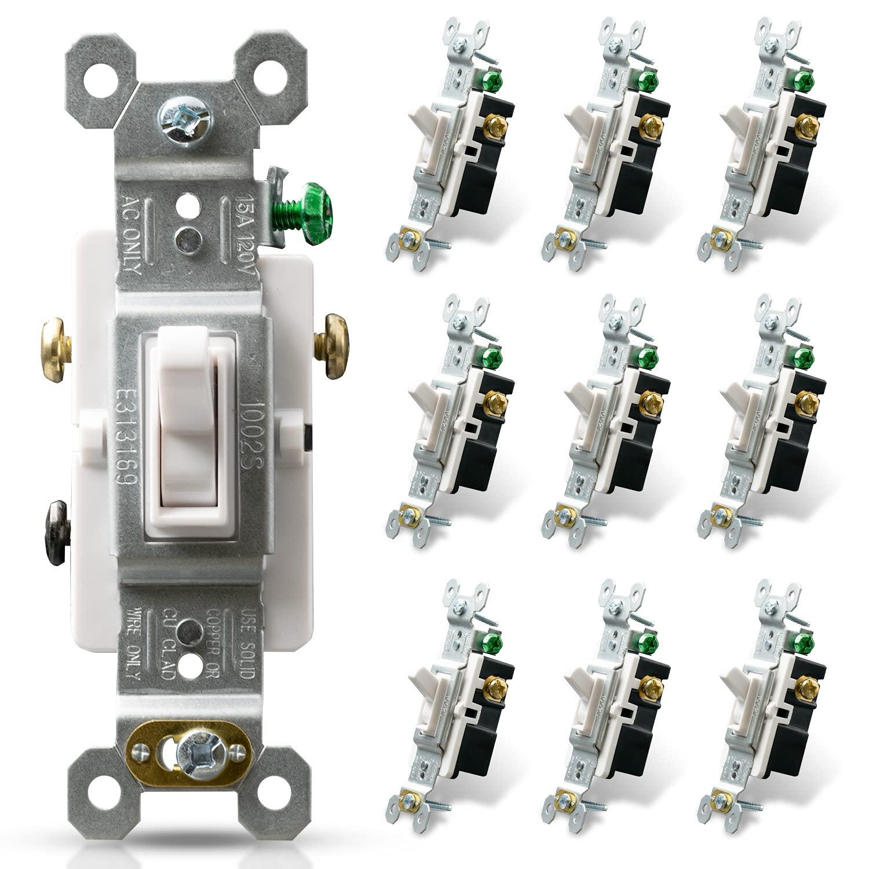 ELEGRP 3 Way Toggle Light Switch 120 15 V Quantity limited Framed OFFicial shop A Amp